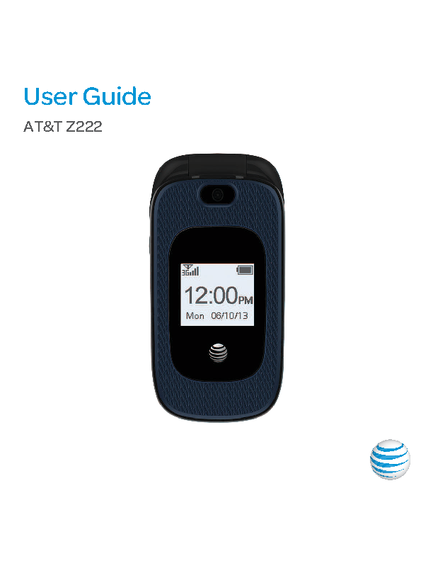Zte Users Manual Sample